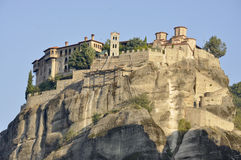 Monastery at Meteora Royalty Free Stock Images