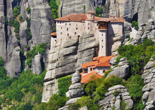 Monastery at Meteora, Greece Royalty Free Stock Photo