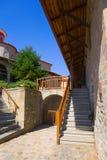 Monastery in Meteora, Greece. Religion background Stock Photos