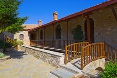 Monastery in Meteora, Greece. Religion background Stock Photo