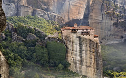 Monastery at Meteora in Greece Royalty Free Stock Photography