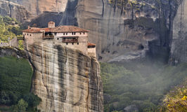 Monastery at Meteora in Greece Royalty Free Stock Image