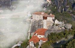Monastery at Meteora in Greece Stock Photo