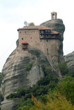 Monastery of Meteora, Greece Royalty Free Stock Image