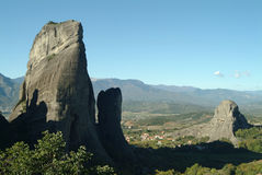 Monastery of Meteora, Greece Stock Photo
