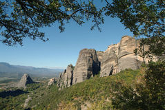 Monastery of Meteora, Greece Royalty Free Stock Images