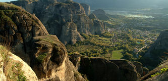 Monastery of Meteora, Greece Royalty Free Stock Photo