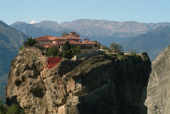 Monastery of Meteora, Greece Royalty Free Stock Photography