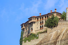 Monastery in Meteora, Greece Stock Photography