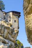 Monastery in Meteora, Greece Royalty Free Stock Images