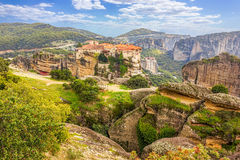 Monastery from Meteora-Greece Royalty Free Stock Image