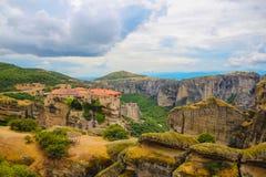 Monastery in Meteora, Greece Royalty Free Stock Image