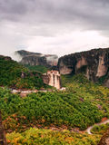 Monastery in Meteora Greece Royalty Free Stock Photography