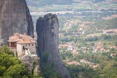 Monastery in Meteora, Greece Stock Photography