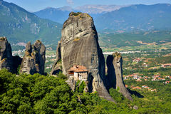 Monastery in Meteora, Greece. royalty free stock photo
