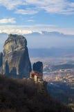 Monastery Meteora Greece Royalty Free Stock Images