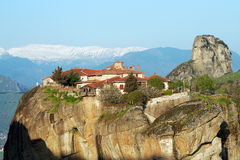 Monastery in Meteora, Greece Stock Image