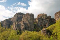 Monastery in Meteora, Greece Stock Images