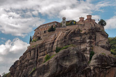 Monastery in Meteora, Greece Royalty Free Stock Photos