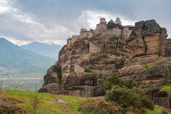 Monastery in Meteora , Greece Royalty Free Stock Photography