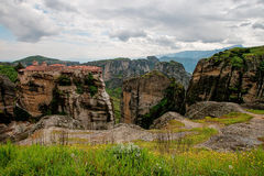 Monastery in Meteora, Greece Royalty Free Stock Photo