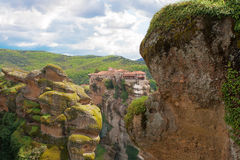 Monastery in Meteora, Greece Royalty Free Stock Photography