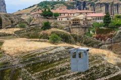 Monastery in Meteora Stock Photos