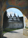 monastery, Moldavia Stock Photo