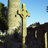 Monastery of Monasterboice Stock Image