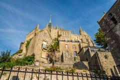 Monastery of Mont Saint-Michele Lizenzfreie Stockfotografie