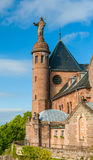 Monastery at Mont Sainte-Odile in Alsace, France Stock Photo
