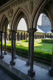 Monastery, Mont Sent Michel, France Royalty Free Stock Images