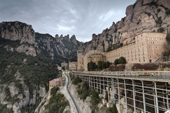 Monastery of Montserrat Royalty Free Stock Photo