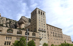 Monastery of Montserrat Royalty Free Stock Image