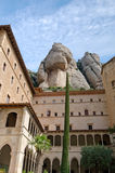 Monastery of Montserrat Stock Photography