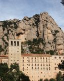 Monastery in MontSerrat Catalonia Stock Photography