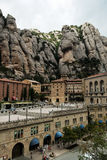Monastery of montserrat Stock Photo