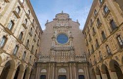 Monastery of Montserrat Royalty Free Stock Photo