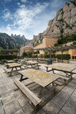 Monastery Montserrat, Spain Stock Photos