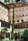 Monastery Montserrat Royalty Free Stock Images