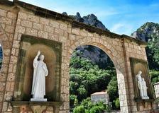 Monastery Montserrat Royalty Free Stock Photography