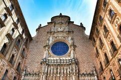 Monastery Montserrat Stock Image