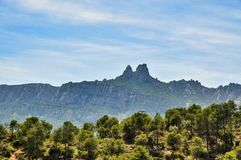 Monastery Montserrat Stock Photos