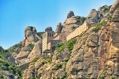 Monastery Montserrat Stock Images
