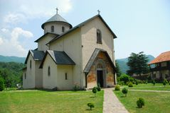 Monastery Moraca Royalty Free Stock Photos