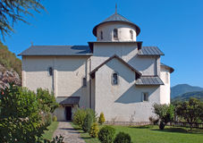 Monastery of Moraca in Montenegro Royalty Free Stock Photos