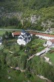 Monastery Moraca, Montenegro stock image