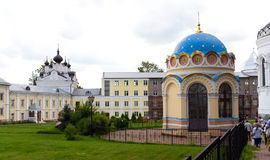 Monastery in Moscow region Royalty Free Stock Photos