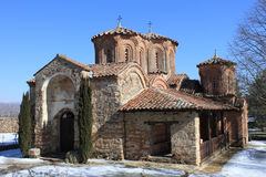 Monastery of the Most Holy Theotokos Eleusa Royalty Free Stock Photography