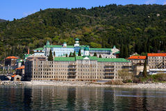 Monastery on Mount Athos Stock Photography